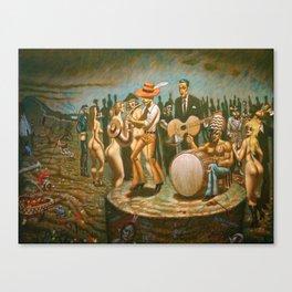"""Westward Ho"" Canvas Print"