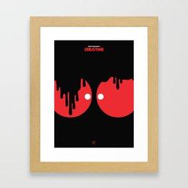 John Carpenter - Christine Framed Art Print