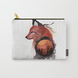 Tetrad the Bloodmoon Fox Carry-All Pouch