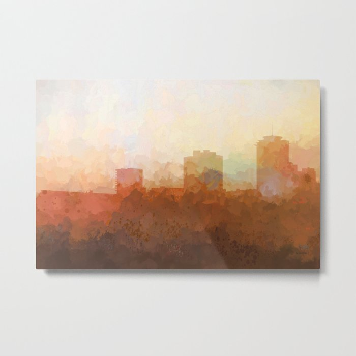 New Orleans, Louisiana Skyline - In the Clouds Metal Print