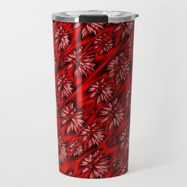 abstract pattern in metal Travel Mug