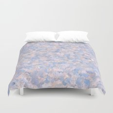 Light pink and blue popcorn 4647 Duvet Cover