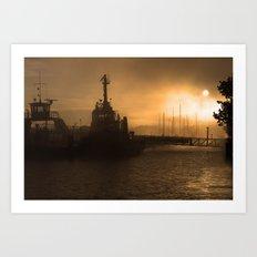 Waterford Harbour Art Print