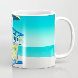 Miami Beach Hut Coffee Mug