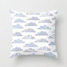 Cute cloud Throw Pillow