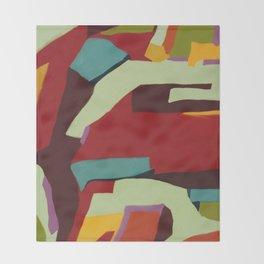Never-ending Abstract Art Throw Blanket