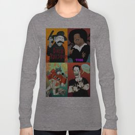 Pop mix of the some of the greats pop culture memories.  Long Sleeve T-shirt