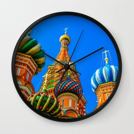 St. Basil's cathedral Wall Clock