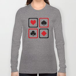 Playing card Long Sleeve T-shirt