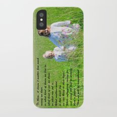 What Matters Most... Slim Case iPhone X