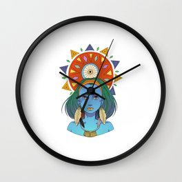 LOOK AT THE SUN Wall Clock