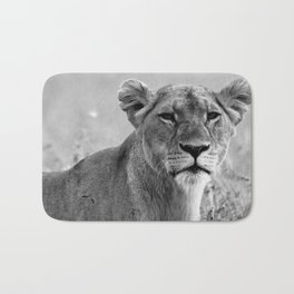 Scarred Lioness Bath Mat