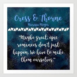 Cress & Thorne Art Print