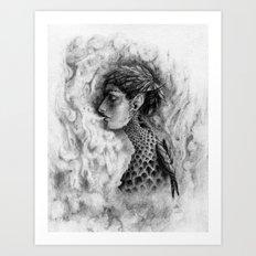 Last Breath of the Phoenix Art Print