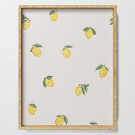 Little Lemons Serving Tray
