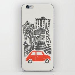 Rome Cityscape iPhone Skin
