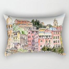 Vernazza, Italy, 2016 Rectangular Pillow