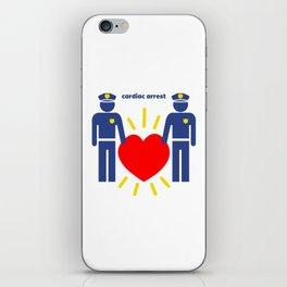 Cardiac Arrest iPhone Skin