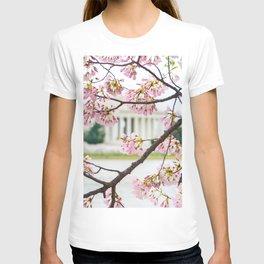 Jefferson through the Blossoms T-shirt