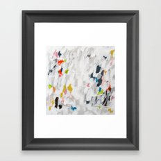 No. 71 Modern Abstract Painting Framed Art Print