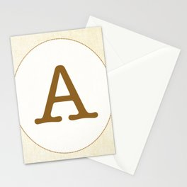 Vintage Letter Series - A Stationery Cards