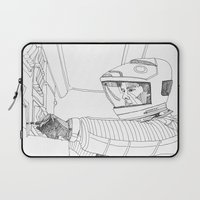 2001 a space odyssey Laptop Sleeves featuring 2001 A Space Odyssey by Ah Shun