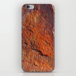 Fire Stone rustic decor iPhone Skin