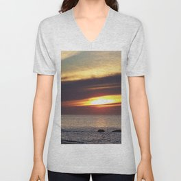 Serenity and the Sea Unisex V-Neck