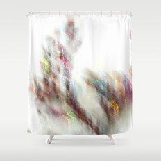 Glittering Tree - JUSTART Shower Curtain