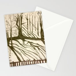 Back yard Stationery Cards