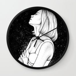 star gaze Wall Clock