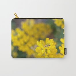 Ladybug in a Yellow Lupin, Dunedin, New Zealand Carry-All Pouch