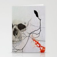 rogue Stationery Cards featuring Rogue by Art of Jason Coe