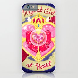 Magical Girl At Heart iPhone Case