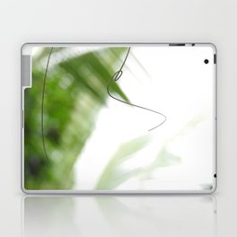 Peaceful green shades of graceful nature Laptop & iPad Skin
