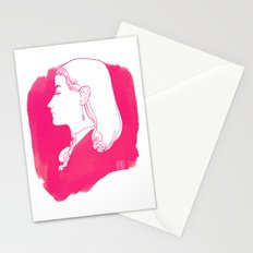 Pink Victorian Stationery Cards