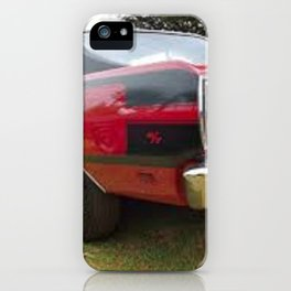 1971 Brazilian Made Only Charger RT Muscle Car iPhone Case