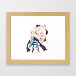 Fate/Grand Order Okita Sōji Framed Art Print