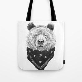 Wild bear Tote Bag