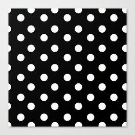 Polka Dot Pattern Canvas Print