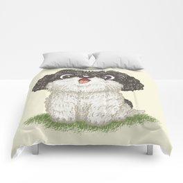 Shih Tzu happy Comforters