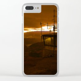 Elsewhere Clear iPhone Case