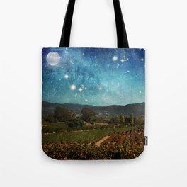 Starlit Vineyard II Tote Bag