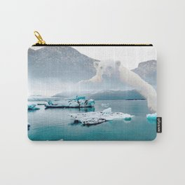 Polar Bear Iceberg Carry-All Pouch