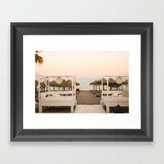 Atardecer Framed Art Print