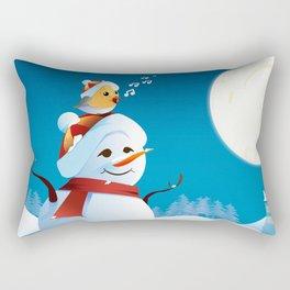 Join the spirit of Christmas Rectangular Pillow