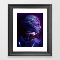 Mass Effect: Tela Vasir Framed Art Print