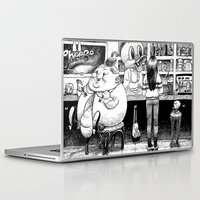 cheese Laptop & iPad Skins featuring Cheese. by Samuel Guerrero