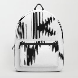 Are You Drunk Test For Partygoers Black Text Backpack