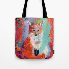Fox Charming Tote Bag